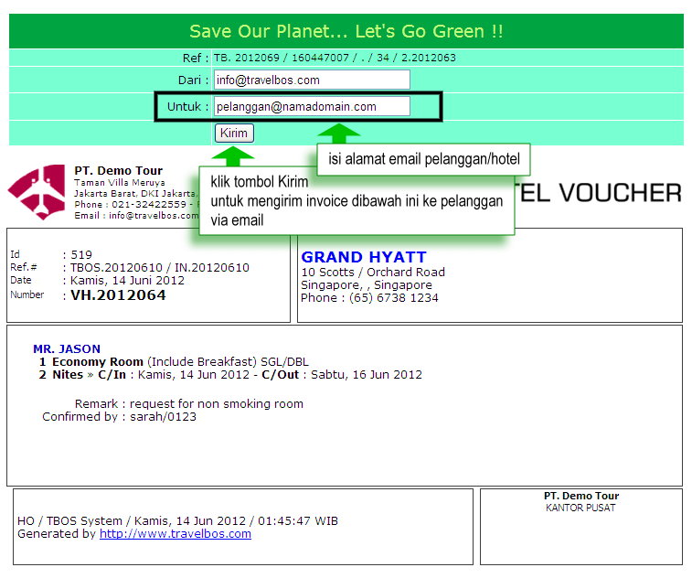 Travelbos front office aplikasi travel agent program travel online contoh letter of guarantee thecheapjerseys Gallery