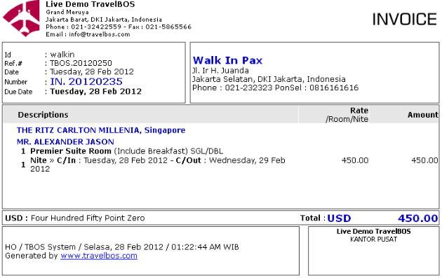 Contoh Invoice IN 2011.09.3 | Skenario #1